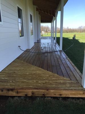 Deck Staining Lexington